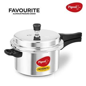 Pigeon Pressure Cooker 3lt – Silver (Small Family)