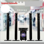 Sea Piano Sp-661  5.1 Inch Powerful Home Theater Multimedia Subwoofer Speaker