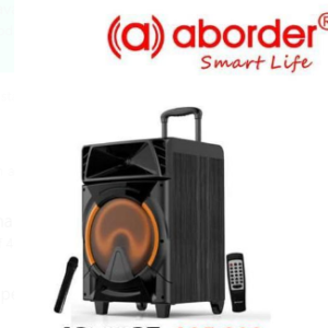 Aborder Loudest Wireless Rechargeable Trolley Speaker, Bluetooth PA Speaker With Mic – AB732BT