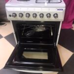 Boss Cookers with Oven BC5622 SVR 50cmx60cm with Grill 2 electric + 2 Gas Oven is electric