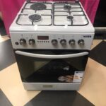 Boss Cookers with Oven BC6613 SVR 60cm X 60cm with Grill 1 electric + 3 Gas Oven is electric With Rotisserie