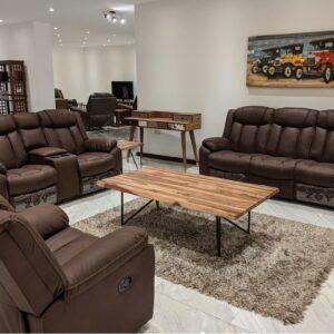 Original classic sofa set with 6 seats