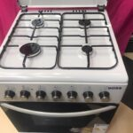 Boss Cookers with Oven BC6604 SVR 60cmx60cm with Grill 4 Gas burner Oven is electric