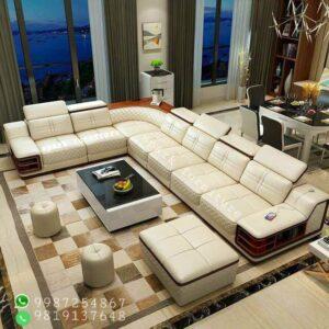 Luxury sofa set design L shape design