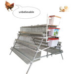 A 96 Birds Layer Chicken Cages